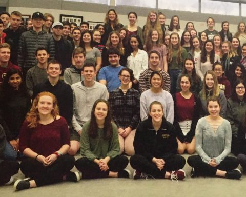 NHS members from 2018-2019 school year