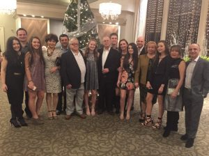 LHS student Ilana Kofman and her family on New Years