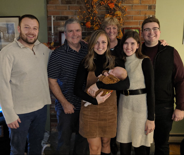 Mrs. Ferreira with family